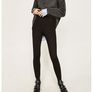 Zara Basic High Waisted Body Shaping Legging